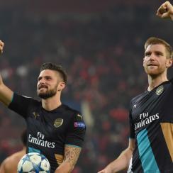 Olivier Giroud, Arsenal, Champions League