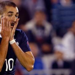 Karim Benzema, Mathieu Valbuena, France