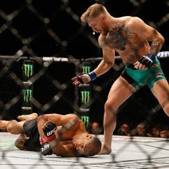 conor mcgregor knocks out jose aldo