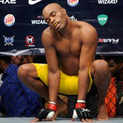 anderson silva ufc london fight michael bisping