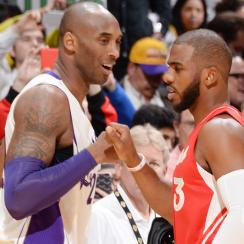 Kobe Bryant Chris Paul NBA Christmas Day Lakers Clippers