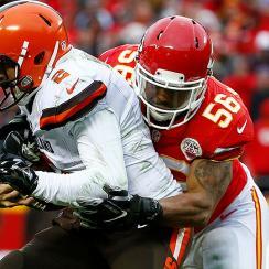 Derrick Johnson on the Chiefs' playoff chances, AFC West race
