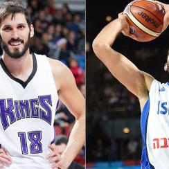 Omri Casspi Sacramento Kings Israeli National Team
