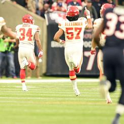 AFC wild card: Chiefs shut out Texans for first playoff win since 1994