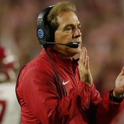 alabama crimson tide nick saban onside kick