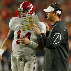 clemson alabama lane kiffin celebrate early video