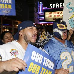 Rams relocation to Los Angeles leaves San Diego, Oakland as NFL's next project