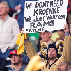 Relocation reinforces the brutal message that sports are more about business than they are about their fans.