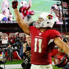 Larry Fitzgerald carried the Arizona Cardinals to an overtime win over the Green Bay Packers in the 2016 divisional round of the playoffs.