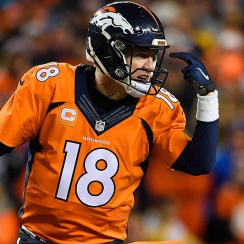 Peyton Manning, Broncos are headed to the AFC title game vs. the Patriots.