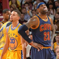 lebron james cleveland cavaliers golden state warriors loss
