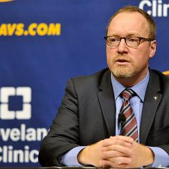 Cleveland Cavaliers GM David Griffin