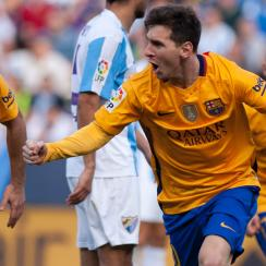 lionel messi goal barcelona malaga video