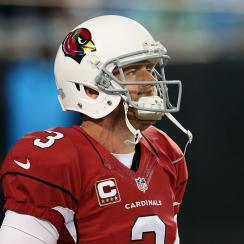carson palmer cardinals panthers nfc championship game turnovers interceptions