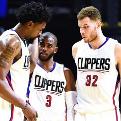Los Angeles Clippers Blake Griffin fight broken hand