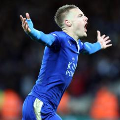 Jamie Vardy scored a wondergoal for Leicester City vs. Liverpool