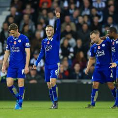 Leicester City continues its improbable title chase against Arsenal this weekend