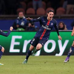 Edinson Cavani scored a big winner for PSG in the Champions League against Chelsea