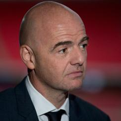 Gianni Infantino is a co-favorite for FIFA president.
