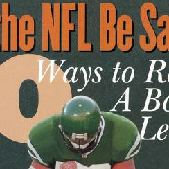 Can the NFL be saved?