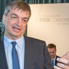 Jerome Champagne is running for FIFA president but is a longshot to win
