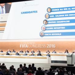 FIFA election takes place in Zurich