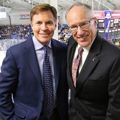 Bob Costas and Mike Emrick