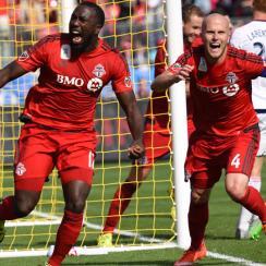 Toronto FC stars Jozy Altidore and Michael Bradley