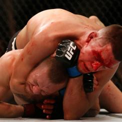 conor mcgregor nate diaz ufc 196 result video