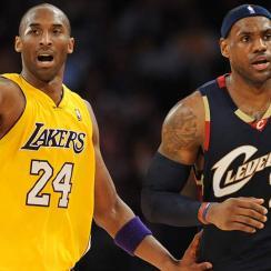 Kobe Bryant; LeBron James