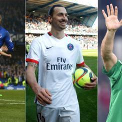 Romelu Lukaku, Zlatan Ibrahimovic and Gianluigi Buffon stood out around Europe this weekend