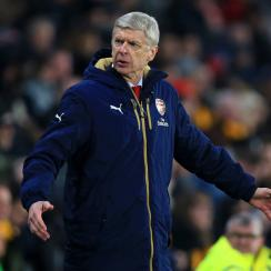 Arsene Wenger is in the midst of a disappointing season at Arsenal