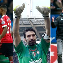 Manchester United, Gianluigi Buffon and Julian Naglesmann are among the headliners after another weekend of European action