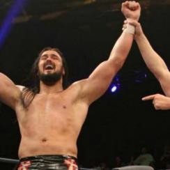 Drew Galloway got some career advice from Brock Lesnar