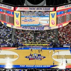 Final Four court