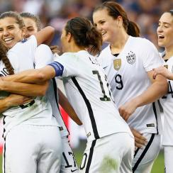 USWNT and U.S. Soccer are in the midst of a wage inequality dispute
