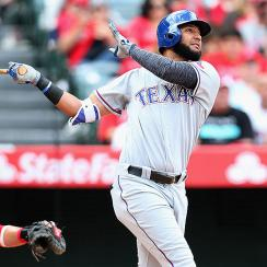 Texas Rangers Nomar Mazara