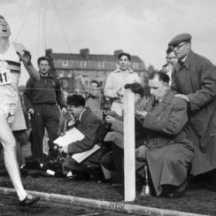 roger bannister documentary released everest on the track