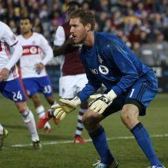 Goalkeeper Clint Irwin is backstopping the new and improved Toronto FC defense