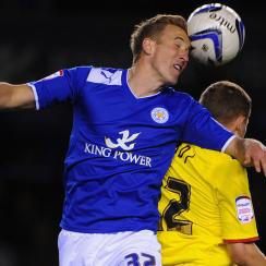 Harry Kane playing for Leicester City in 2013