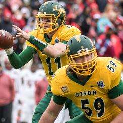 NFL draft: Joe Haeg, Carson Wentz's North Dakota State teammate, eyes NFL