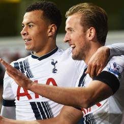 Tottenham stars Harry Kane and Dele Alli