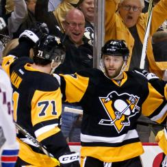 new york rangers pittsburgh penguins game 5 nhl playoffs
