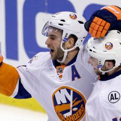 video alan quine goal scores new york islanders florida panthers