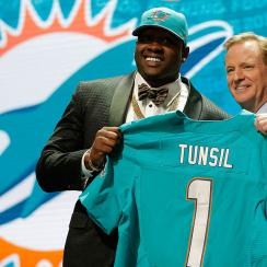 laremy Tunsil dolphins draft ole miss