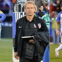 USMNT's Edgar Castillo, Jurgen Klinsmann and Christian Pulisic