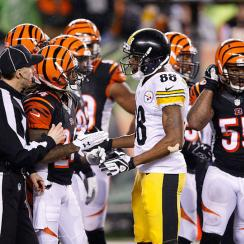 Steelers and Ravens rivalry heats up during the 2016 wild-card round