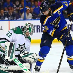 NHL playoffs: Stars hold off Blues to force Game 7