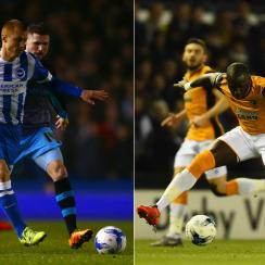 Brighton, Sheffield Wednesday, Hull City, Derby County fight for one place in the Premier League