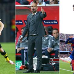 Christian Pulisic, Pep Guardiola and Neymar